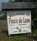 Image for Welcome to Ponce de Leon - Ponce de Leon, FL