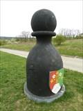 Image for Karlštejnské šachy (19) - cerný pešec / Chess of Karlstein castle - black pawn (Kosor, Czech Republic)