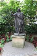 Image for FOUNDER of Methodism -- John Wesley, St. Paul's Churchyard, City of London, UK