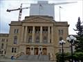 Image for Shiny copper dome atop the Saskatchewan Legislature unveiled
