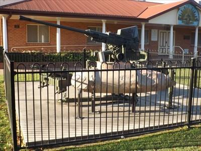 The Anti-Aircraft gun, in the