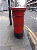 Image for Victorian Post Box - Finsbury Pavement, Bunhill Row, London, UK