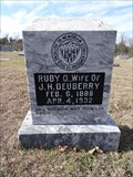 Image for Ruby O. Deuberry - Richland Cemetery - Brinker, TX