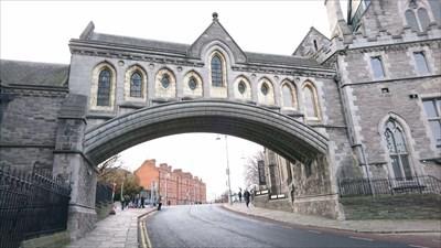 Christ Church Cathedral Bridge - Winetavern Street, Dublin, Ireland