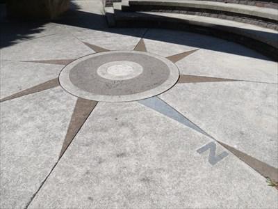 Hilltop Park Compass Rose, San Francisco, CA