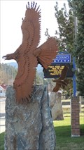 Image for Courthouse Eagle - Libby, Montana