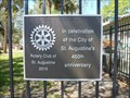 Image for Tolomato Cemetery Rotary Plaque - St. Augustine, FL