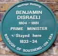 Image for Benjamin Disraeli - Tyrrel Drive, Southend-on-Sea, UK