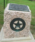 Image for Centennial Highway Marker - First Shot Monuments Historic District - Cost, Texas
