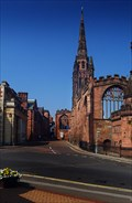 Image for St Michaels. The second Coventry Cathedral.