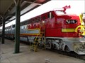 Image for Santa Fe Super Chief Warbonnet Locomotive EMD F7'A Unit #315 - Galveston, TX