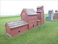 Image for Miniature Grain Elevators - Grenfell, Saskatchewan