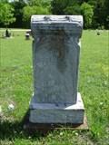Image for J.A. Wafford - Chisholm Chapel Cemetery - McLendon-Chisholm, TX