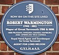Image for Robert Warmington - Row 104, Great Yarmouth, UK