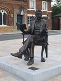 Image for Arnold Bennett - Hanley, Stoke-on-Trent, Staffordshire, England, UK.