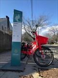 Image for JUMP Bike Share at Pratt and Olney Streets - Providence, Rhode Island USA