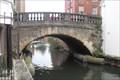 Image for Canal Bridge, Bridge Street, Newbury, Berks, UK.