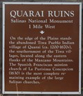 Image for Quarai Ruins - Torrance County, New Mexico
