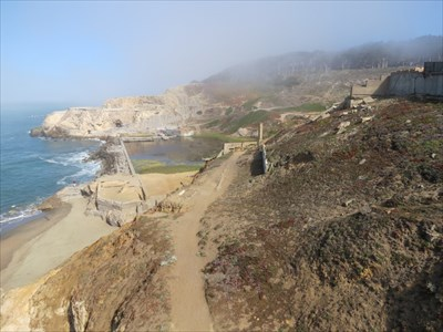 Sutro Baths Ruins from the Cliff House, , San Francisco, California