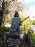 Image for Johnny Ramone's Grave - Hollywood Forever Cemetery - Hollywood, CA