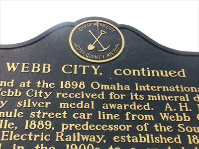 veritas vita visited Webb City