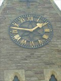 Image for Clock, St Michael & All Angels, St Michaels, Tenbury Wells, Worcestershire, England