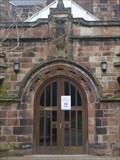 Image for St Mary Magdalene's Church Doorway - Alsager, Cheshire East, UK.