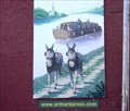 Image for Erie Canal Murals in the Medina, NY harbor