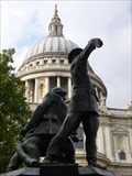 Image for Blitz - National Firefighters Memorial -  St Pauls, London, UK