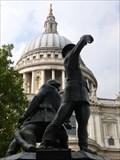 Image for Blitz - National Firefighters Memorial -  St Pauls, London, UK