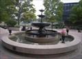 Image for Elizabeth K. Wingerter fountain, Duquesne University, Pittsburgh, Pennsylvania