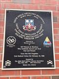 Image for 106th Field Artillery Regiment Plaque