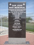 Image for San Juan War Memorial - San Juan TX