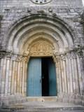 Image for Doorway of the Church of São Pedro de Rates - Póvoa de Varzim, Portugal