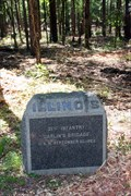 Image for Twenty-First Illinois Infantry Marker - Chickamauga National Battlefield