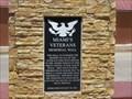 Image for Miami Veterans Memorial Wall - Miami, AZ