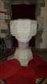 Image for Baptism Font - St George - Fovant, Wiltshire