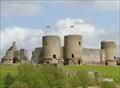 Image for Diamond Shaped Castle - Satellite Oddity - Rhuddlan, Wales.