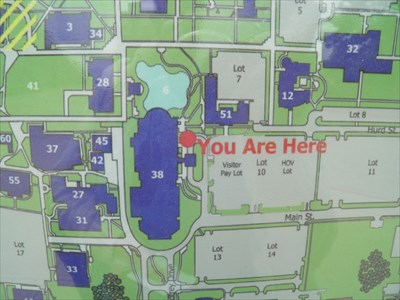 You Are Here At Ucos Nigh University Center Edmond Ok You Are