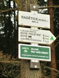 Image for Elevation Sign - Radetice, Czech Republic. 460m