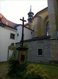 Image for Christian Cross At Monastery of Barefoot Carmelites , Slaný, Czechia