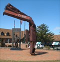 Image for World Trade Center Steel C-40 Memorial Westerville, Ohio