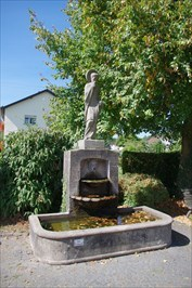 Johannes Nepomuk Brunnen - Winterbach (St. Wendel), Germany