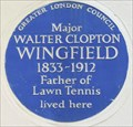 Image for Walter Clopton Wingfield - St George's Square, London, UK