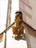 Image for Single gargoyle at 7 Place du Château - Eguisheim - Alsace / France