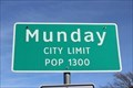 Image for Munday, TX - Population 1300
