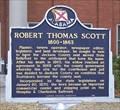 Image for Robert Thomas Scott 1800-1863 - Scottsboro, AL