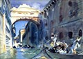 Image for The Bridge of Sighs by John Singer Sargent - Venezia, Italy
