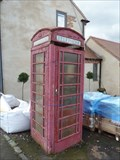 Image for Red Telephone Box - Market Place - Belton, Leicestershire