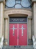 Image for First English Lutheran Church Doorway - Mansfield, OH